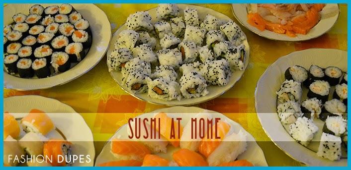 sushi at home fashiondupes