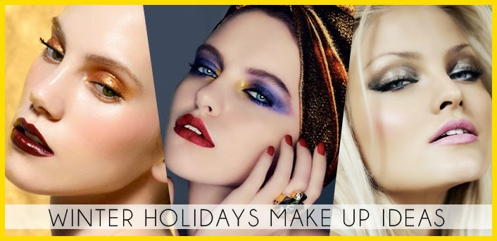 winter holidays makeup ideas