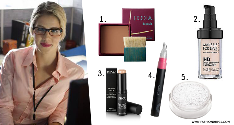 felicity smoak geek arrow lips lipstick look make up
