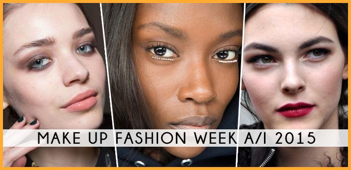 fw fashion week ai 2015 fashion dupes runway look make up