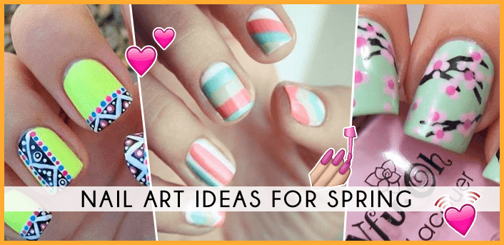 nail art ideas for spring