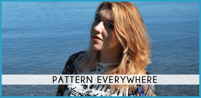 pattern everywhere fashion fupes ootd ootn look moda spring primavera