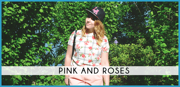 pink and roses fashion dupes look outfit