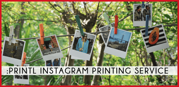 review fashion dupes PRINTL Instagram printing service