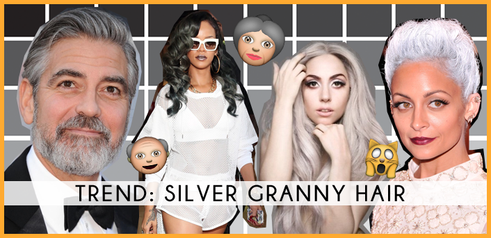 silver granny hair trend 2015