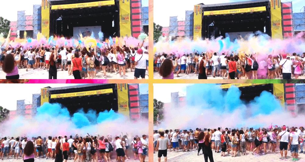 holi dance festival estathèsummerpark milan milano fashion dupes event esplosione colori