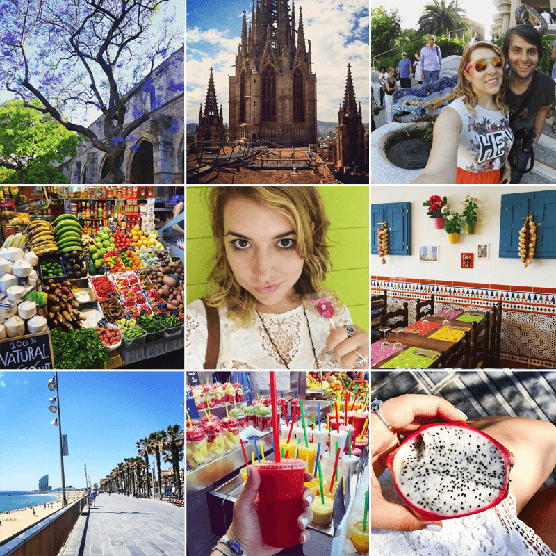barcelona travel fashion dupes instagram june