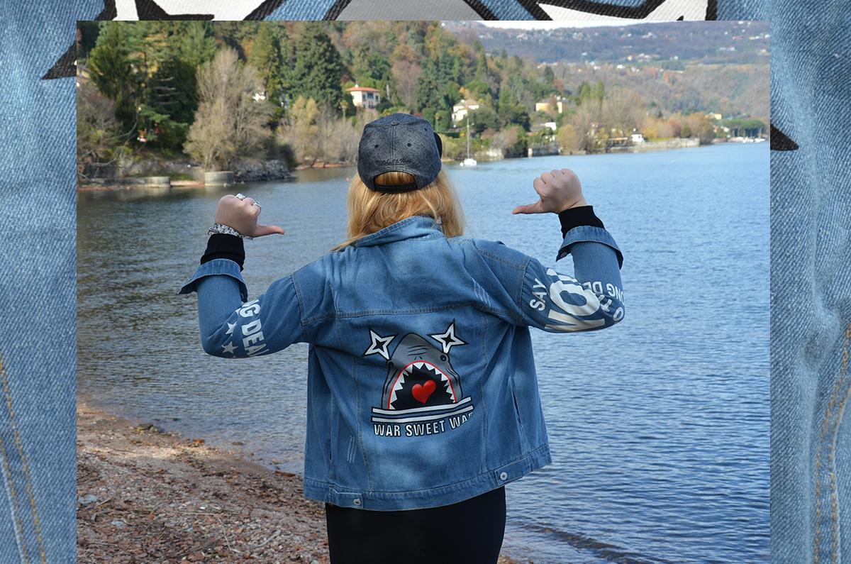 jeans shark fashion dupes sammy dress black outfit style jacket denim
