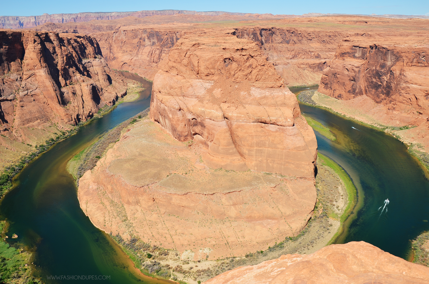 002_horseshoe bend landscape usa on the road west coast fashion dupes road tour travel guide