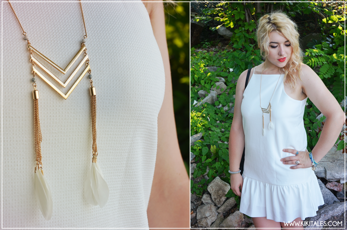 festival party kiki tales look outfit style white bianco bijou brigitte accessori