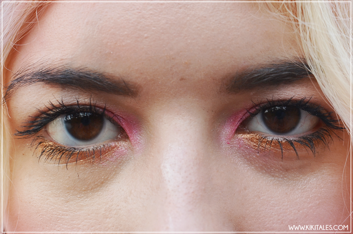 sailor moon inspired kiki tales look outfit style rose gold make up