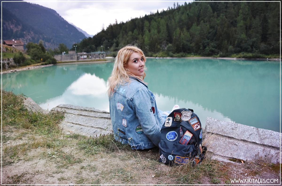 travel kiki tales macugnaga lago delle fate lanterne guida piemonte outfit