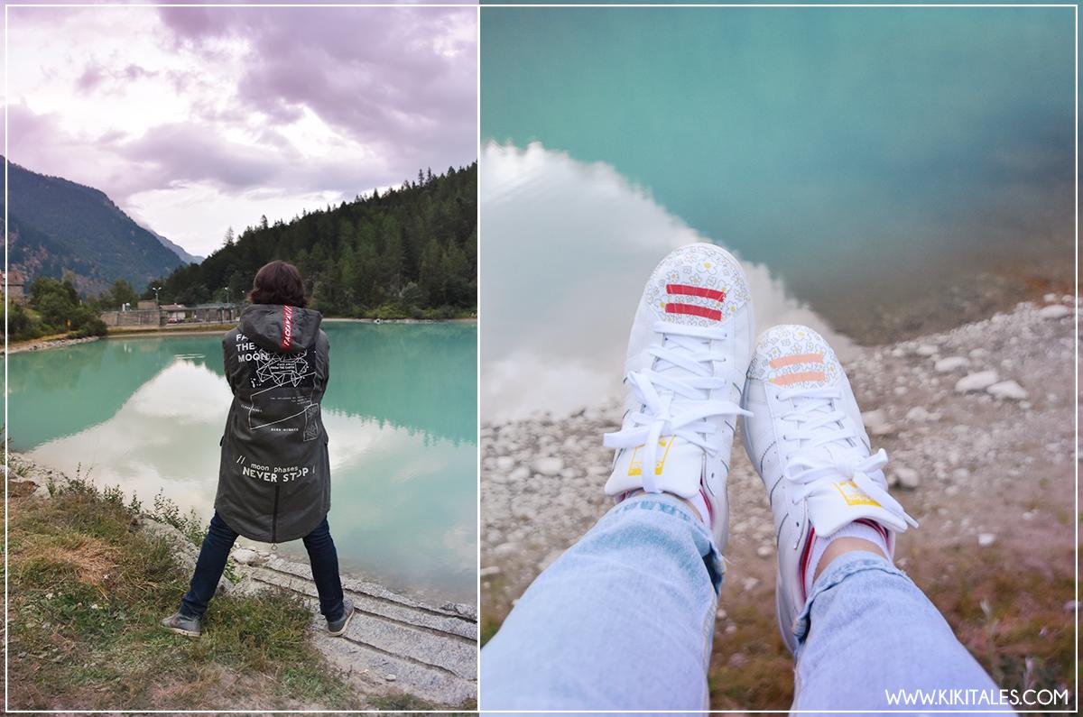 travel kiki tales macugnaga lago delle fate lanterne guida piemonte scarpe adidas pull and bear