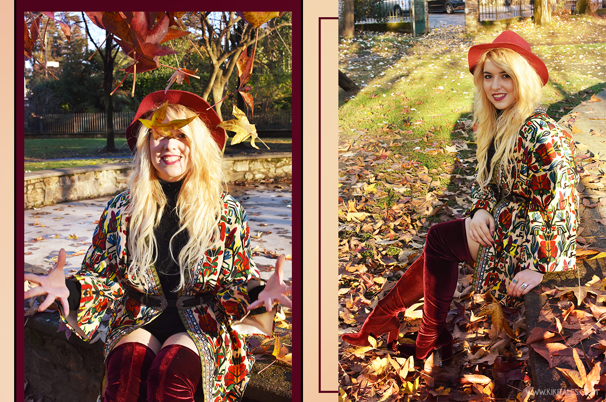 burgundy-bordeaux-kiki-tales-shein-coat-black-outfit-fall-look-style