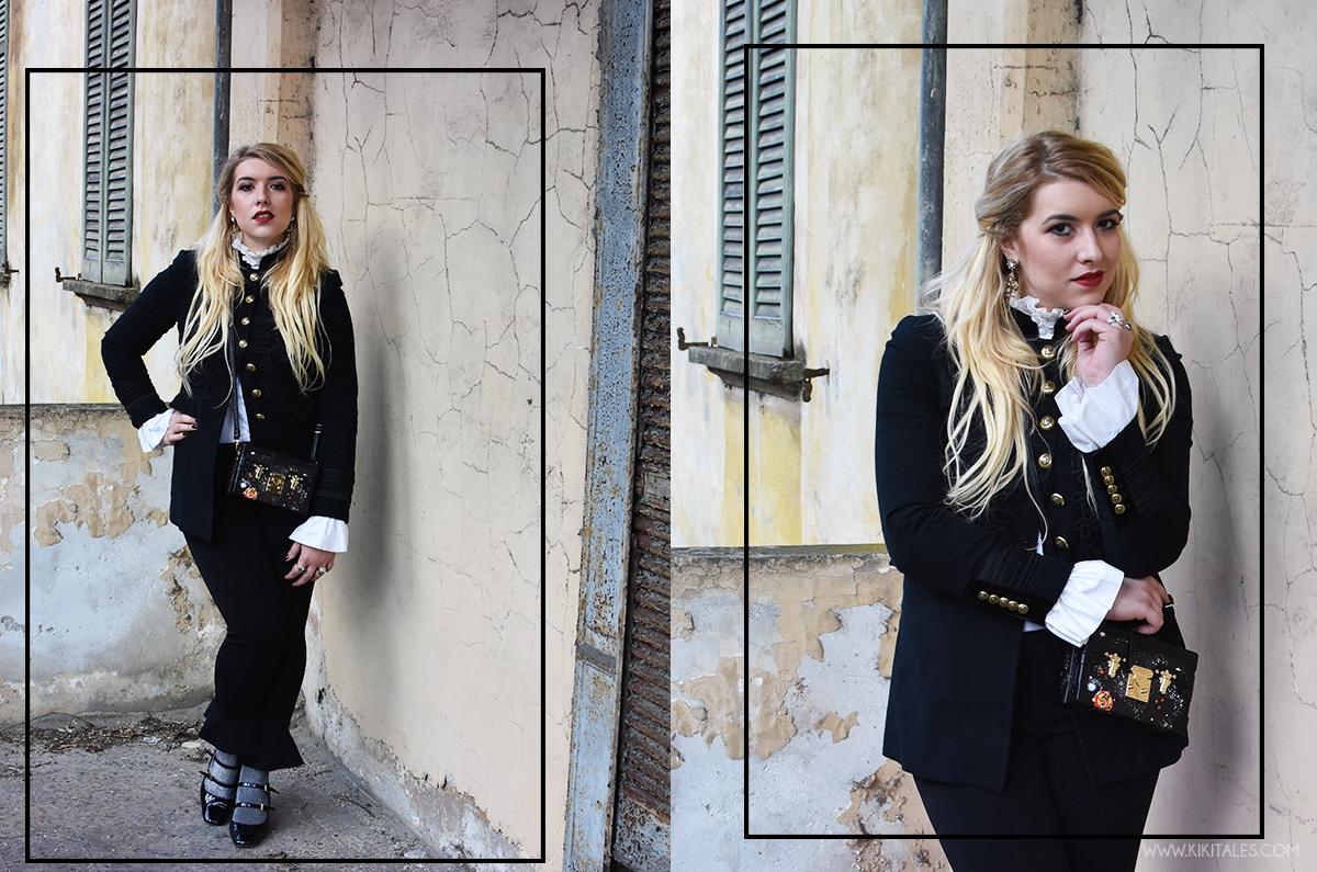 outfit-manica-oversize-kiki-tales-black-white-xmas-capodanno-natale