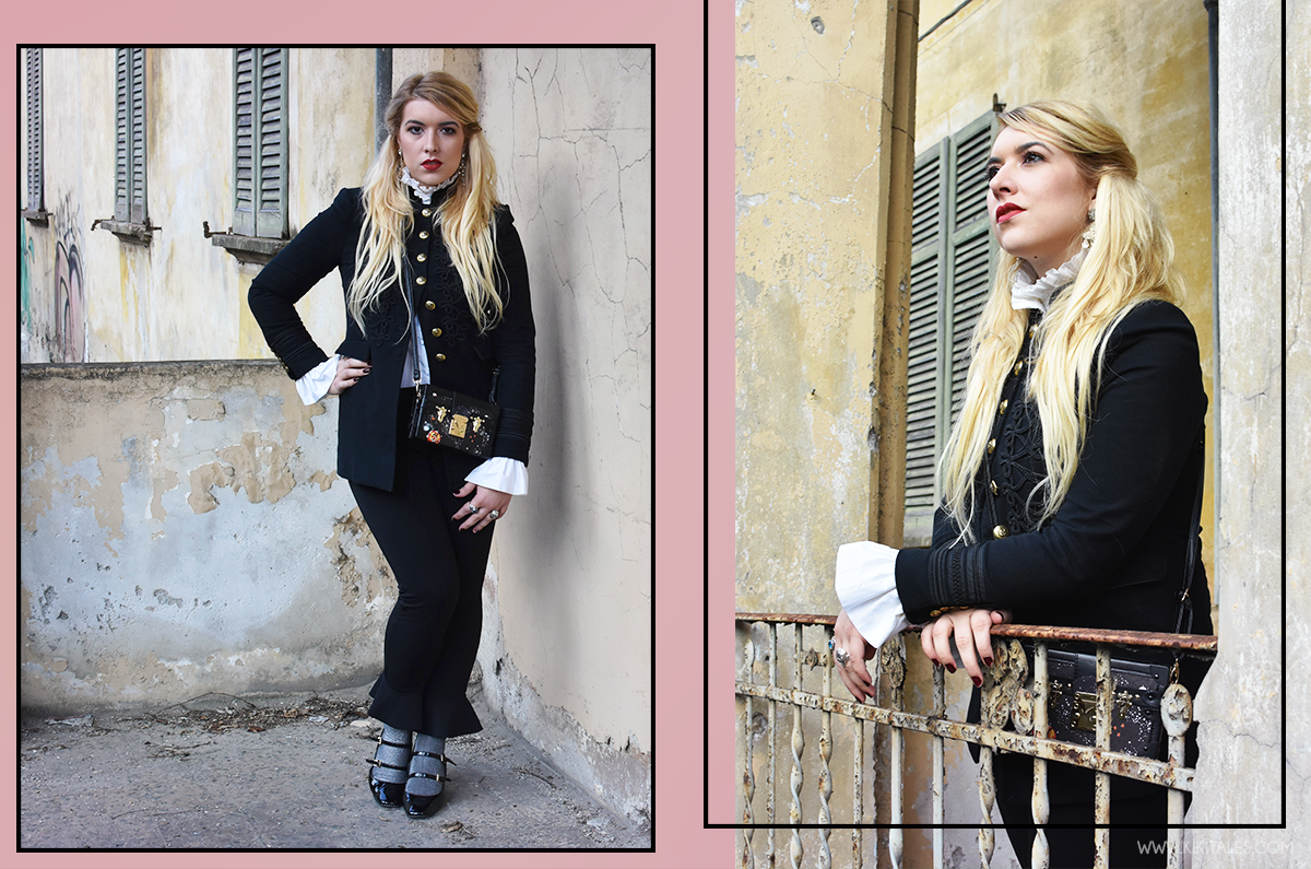 total-black-look-kiki-tales-black-white-xmas-capodanno-natale