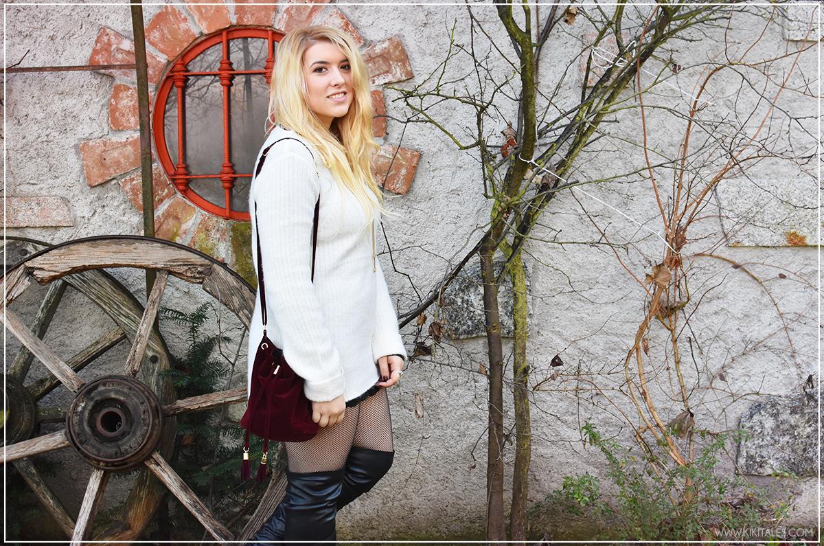 separation shoes 7ff9c 79a51 A/W Outfit: come indossare il maxi maglione come vestito ...