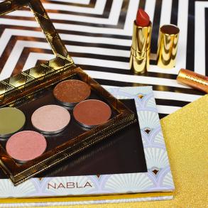 Swatches e review collezione Nabla Goldust