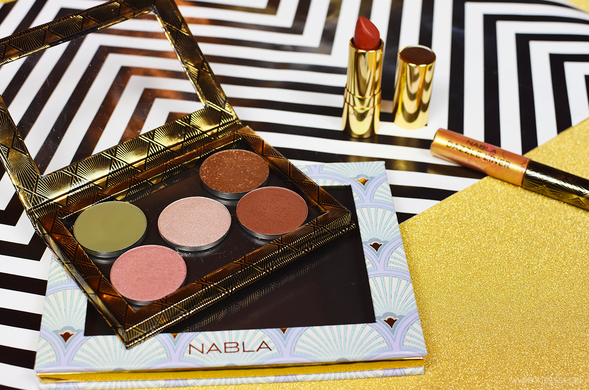 Swatches e review collezione Nabla Goldust