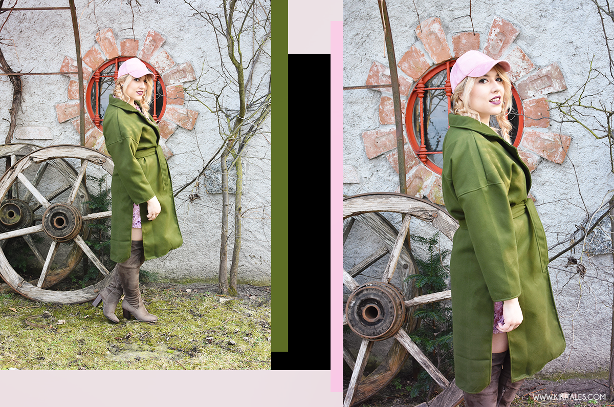 kiki-tales-cappotto-verde-militare-rosa-antico-look-outfit-ootd-ootn-style-inverno-autunno