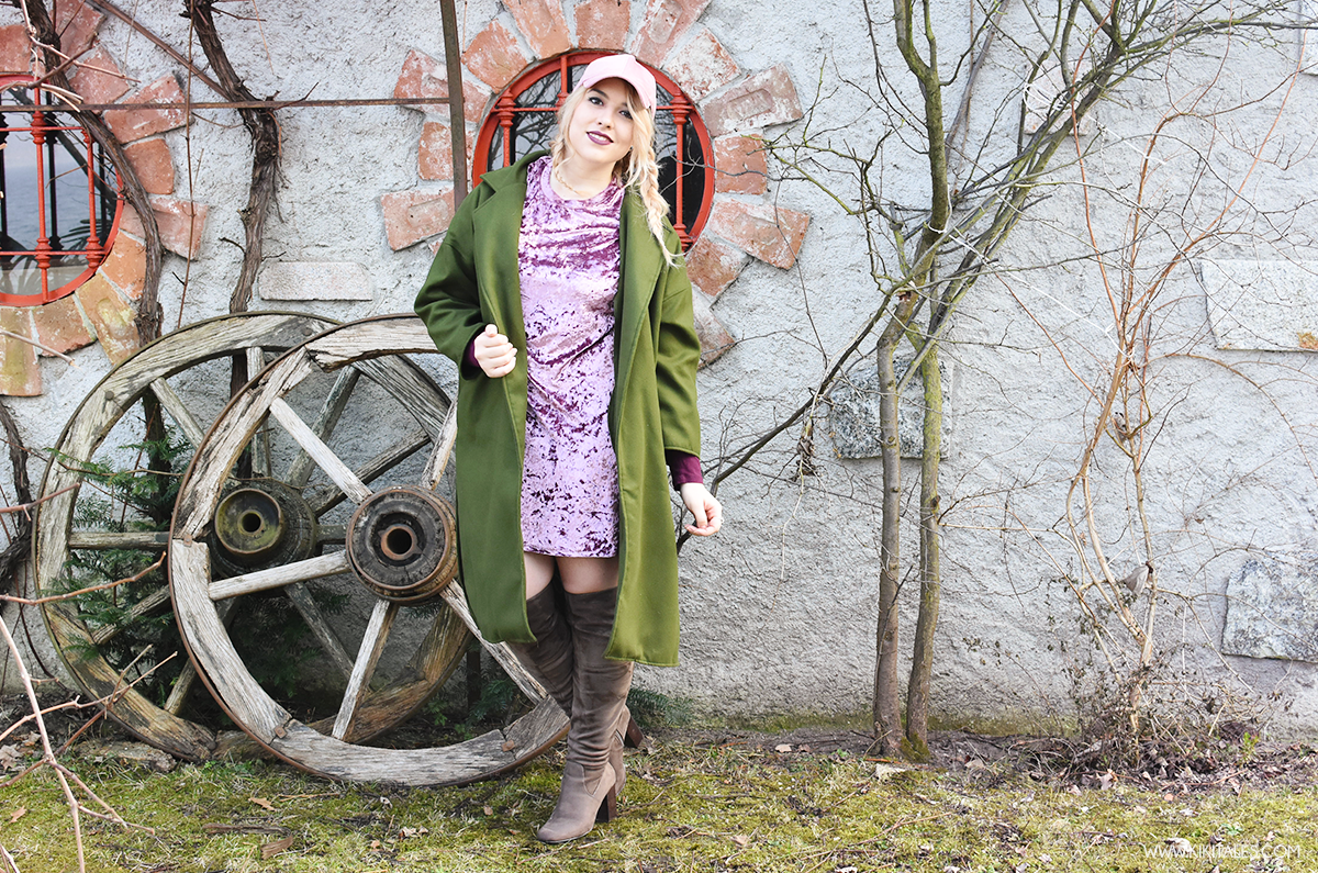 a754216f36 A/W Outfit: military green and pink!