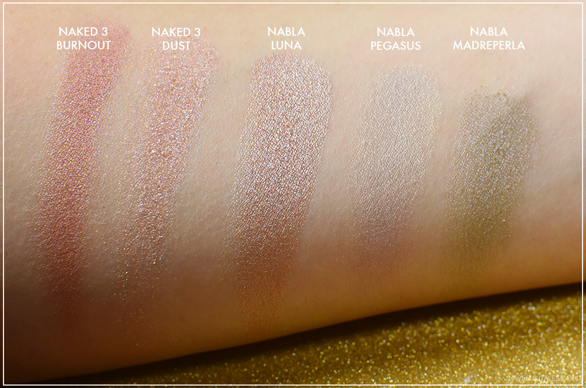 ombretti-dupe-luna-nabla-goldust-review-swatches-kiki-tales