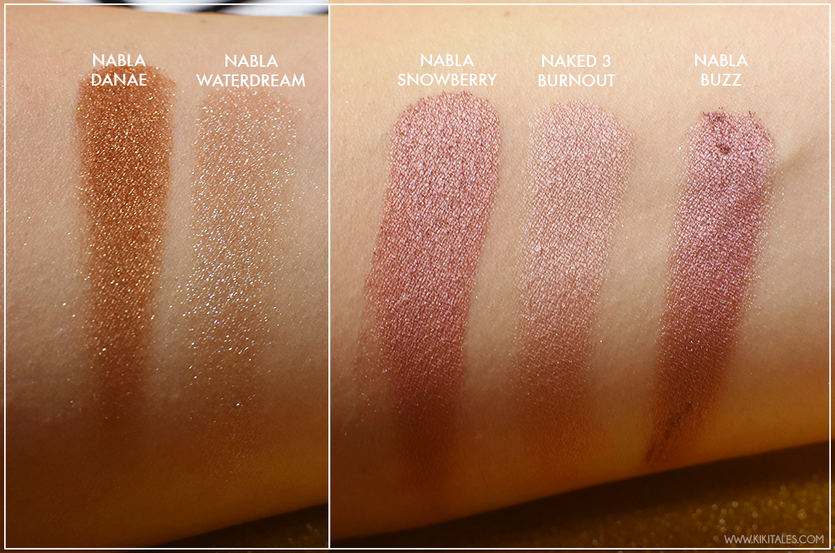ombretti-dupe-snowberry-danae-nabla-goldust-review-swatches-kiki-tales