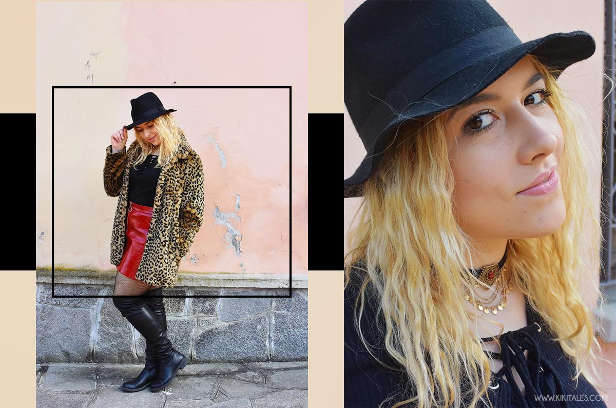 6c292f6b7660 Gonna: Zara – Maglia: Zara – Pelliccia: Zara Collana: Bijou Brigitte –  Calze: Primark