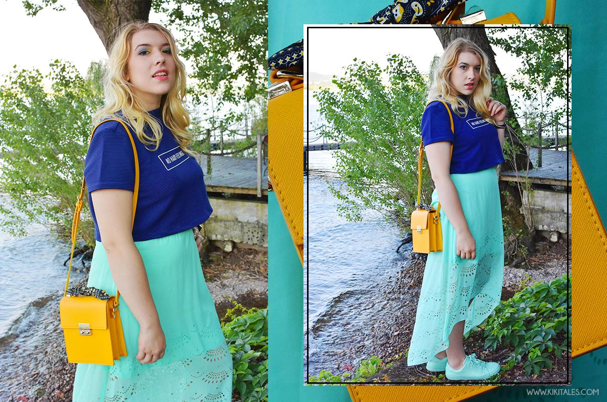 sfumature di blu look estivo summer outfit ootn ootd shades of blue kiki tales