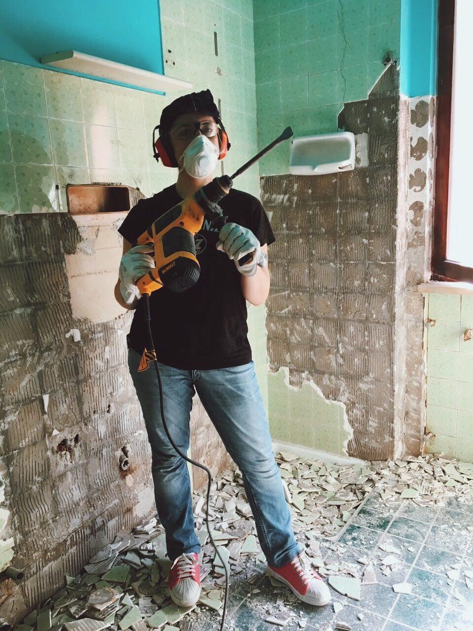 cronachediunaristrutturazione #cronachediunaristrutturazione room tour kiki tales cronache di una ristrutturazione
