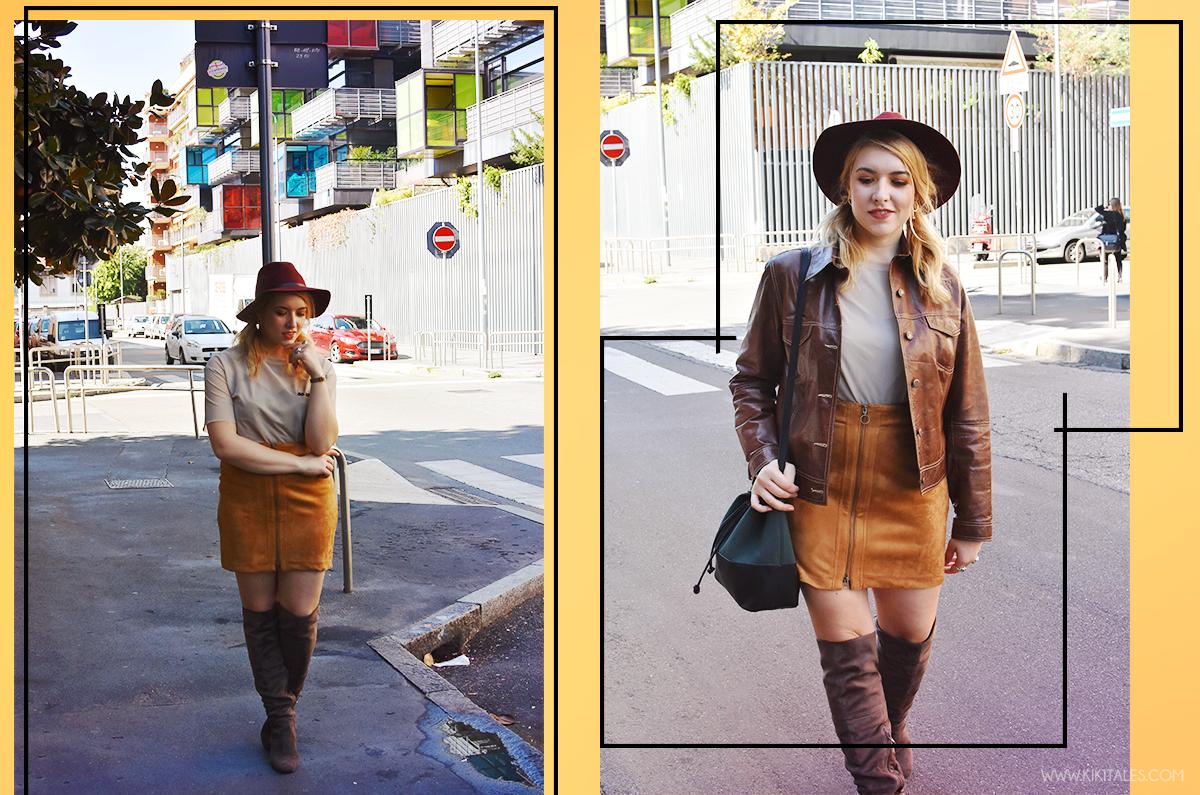 A W Outfit Come Abbinare Il Marrone Heidi Klum Per Lidle