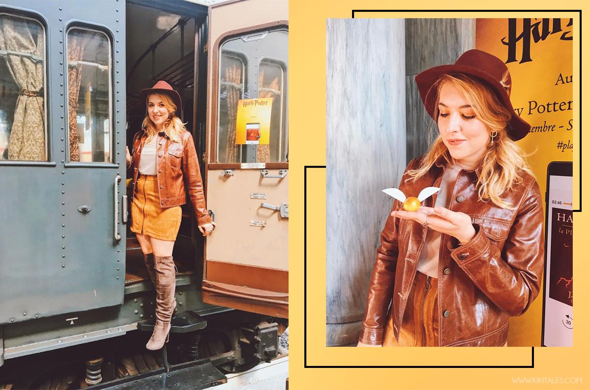come abbinare il marrone kiki tales look outfit harry potter cammello caramello beige esmara heidi klum lidle