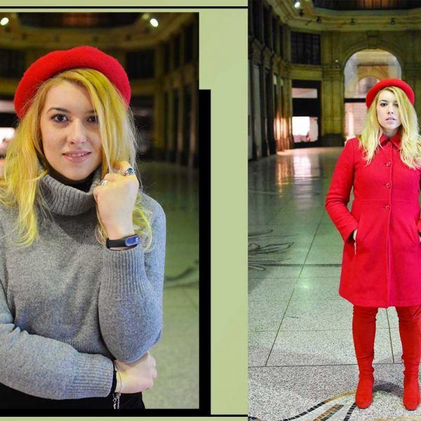 total red look rosso kiki tales