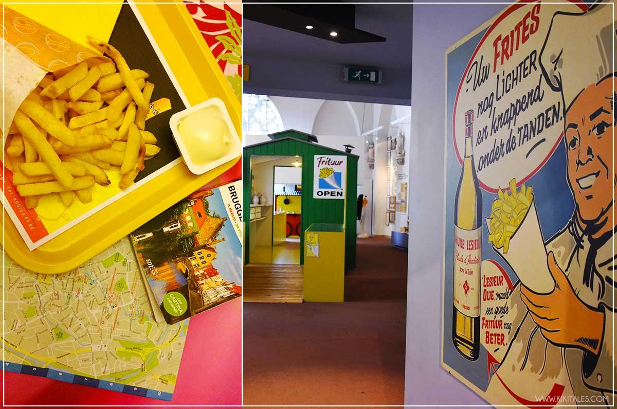 fritto bruges dove e cosa mangiare in belgio food blogger kiki tales viaggio travel bruxelles pranzo