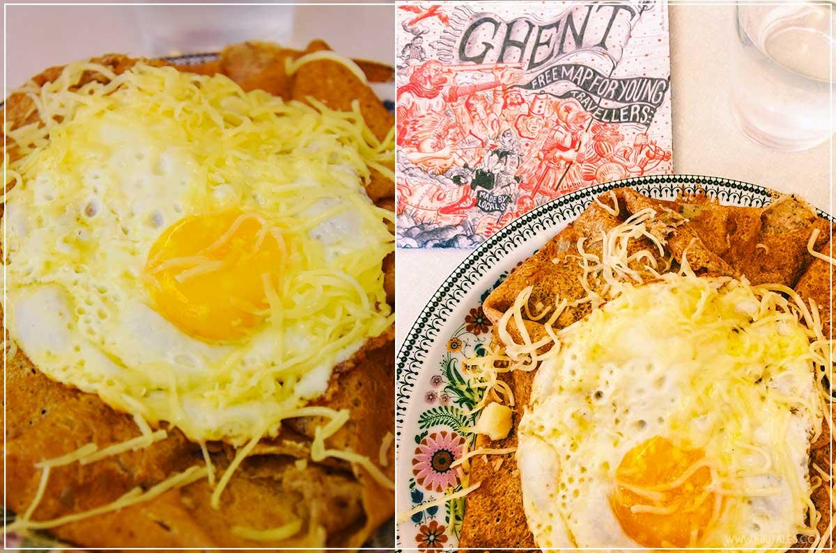 qwenola crepe salate gent dove e cosa mangiare in belgio food blogger kiki tales viaggio travel bruxelles pranzo