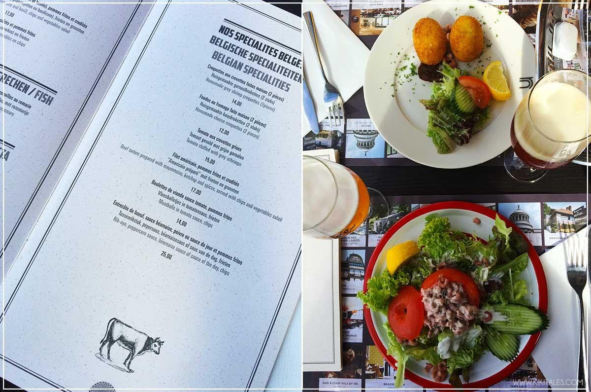 piatti tipici pesce gamberetti dove e cosa mangiare in belgio food blogger kiki tales viaggio travel bruxelles pranzo