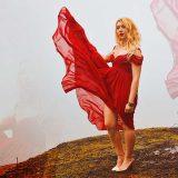 cosa indossare a san valentino look sexy romantico abito rosso elegante san valentino kiki tales shein