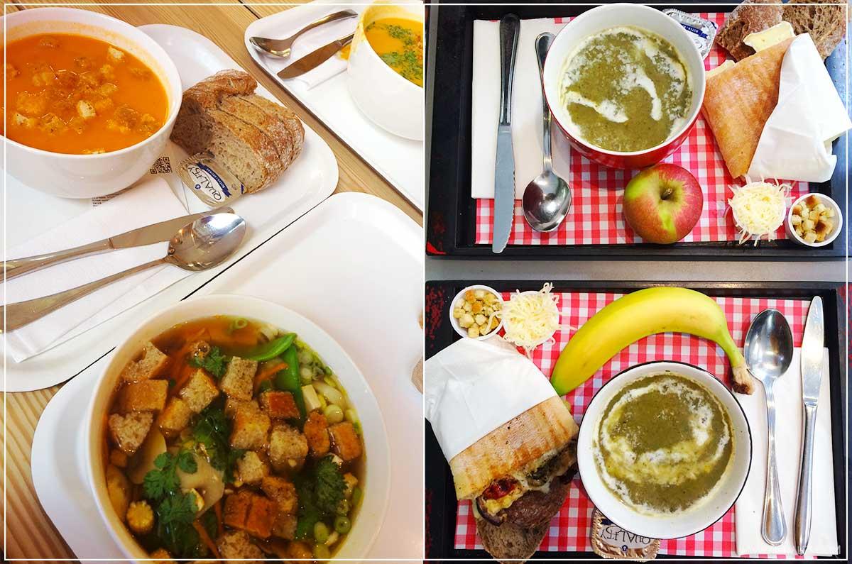 zuppe dove e cosa mangiare in belgio food blogger kiki tales viaggio travel bruxelles pranzo