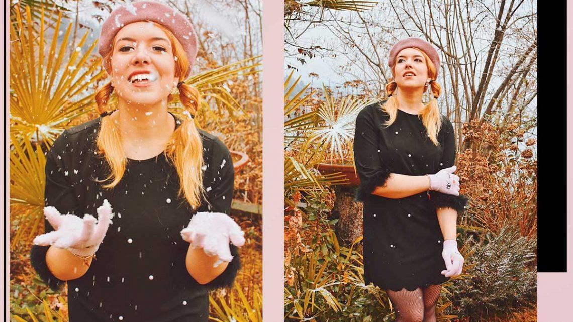abito con le perle mini abito perle nero con piume shein kiki tales