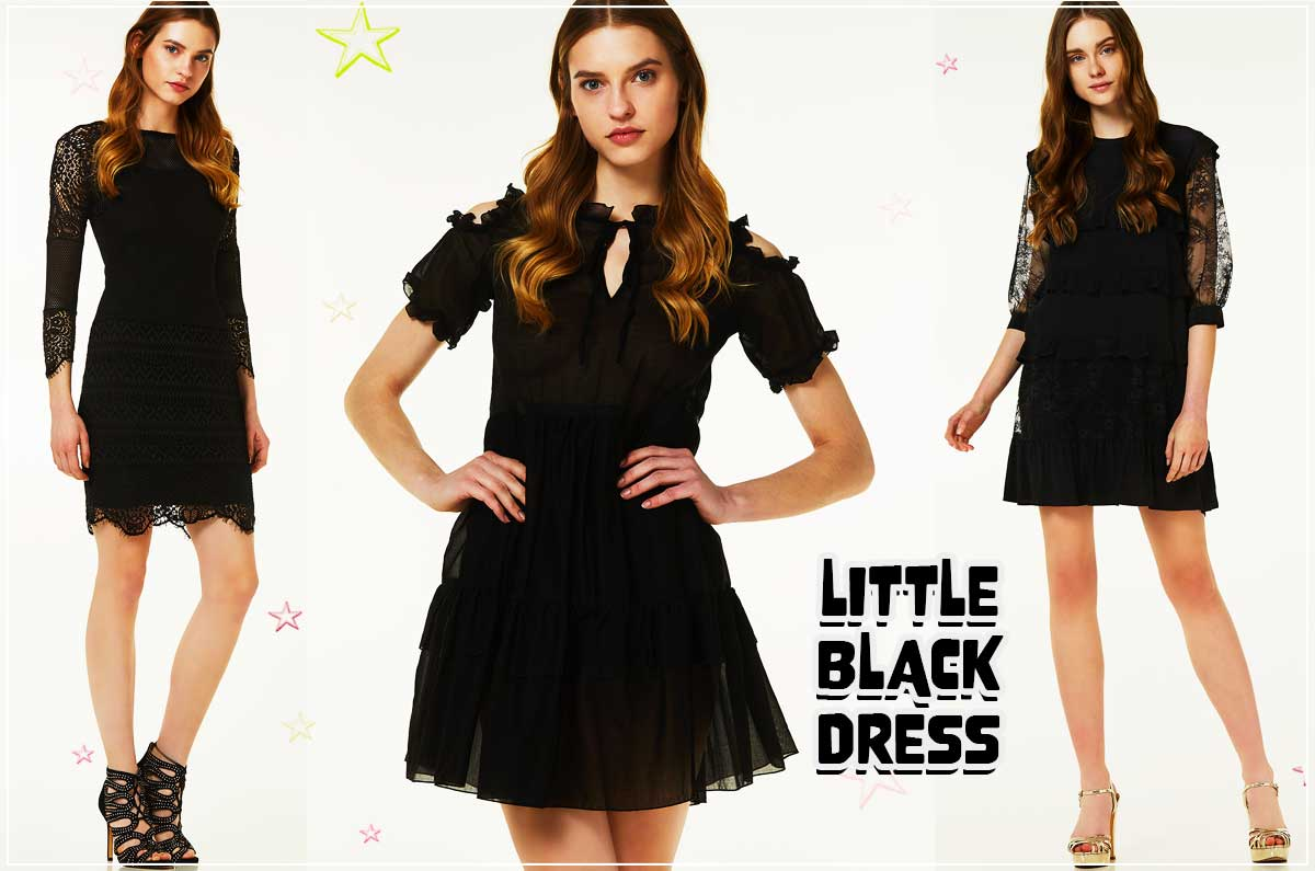 cosa indossare ad una cerimonia di laurea abito nero little black dress kiki tales liu jo