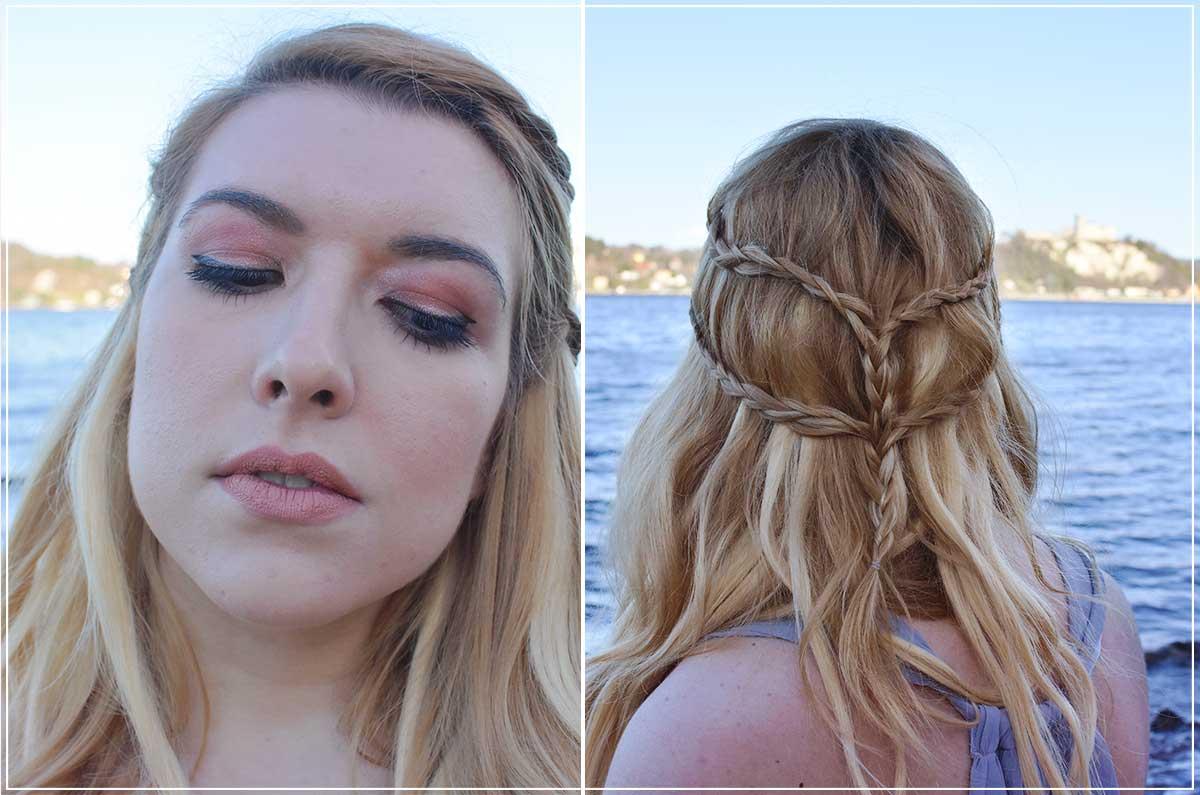 make up e capelli come realizzare il vestito di daenerys targaryen cosplay daenerys targaryen shein kiki tales