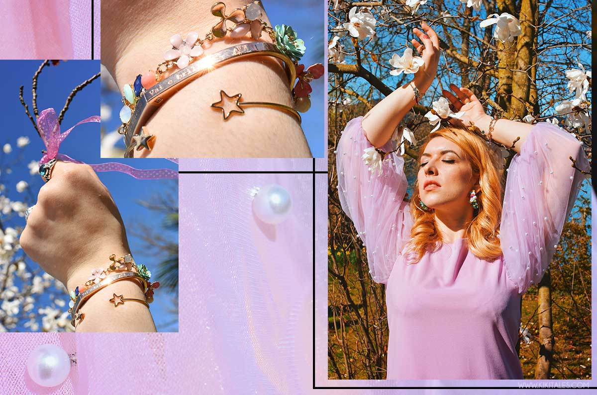 trend vestito con le perle rosa lilla kiki tales shein cerimonia laurea primaverile breil mystories
