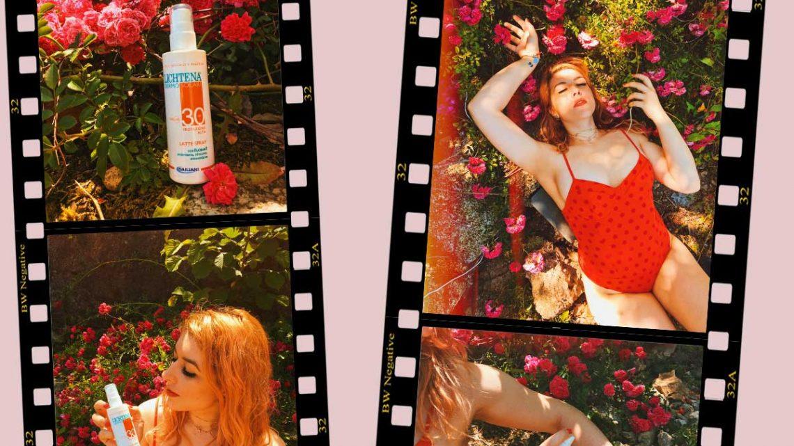 Beauty mare Lichtena® DERMOSOLARI review kiki tales protezione solare 30