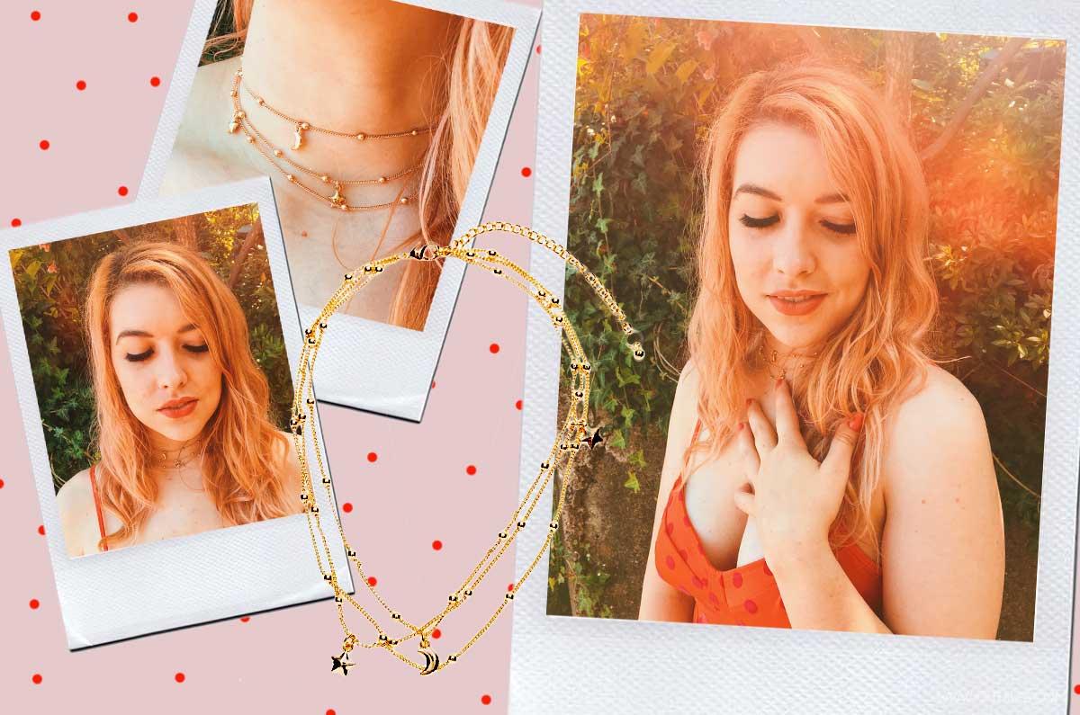 collana con le stelle trend collane sottili e delicate oro e argento kiki tales