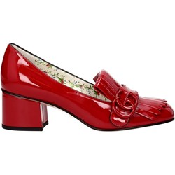 decollete Gucci rosse STILEO