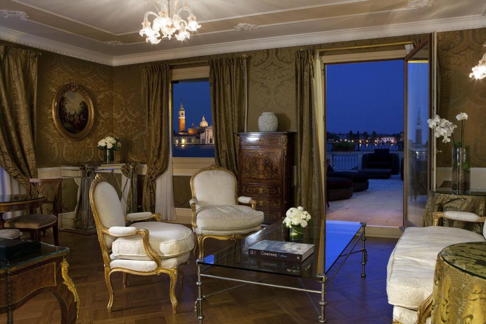 stanza con vista a Venezia Baglioni Hotels