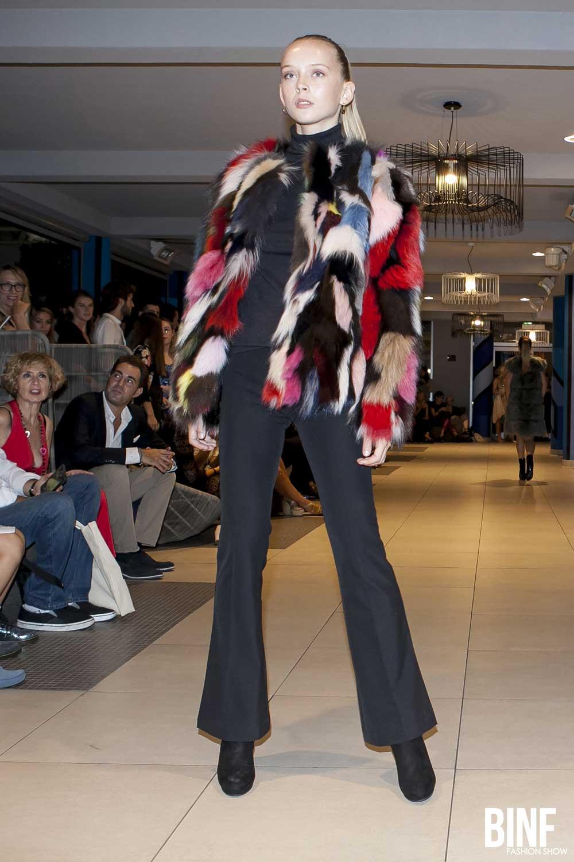 Admiral Violetta Nakhimova BINF fashion show settembre 2018