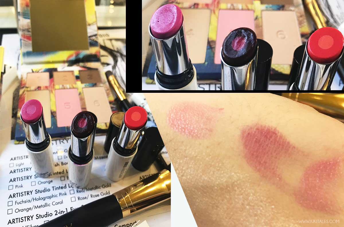 balsamo labbra artistry studio nyc edition swatches e review