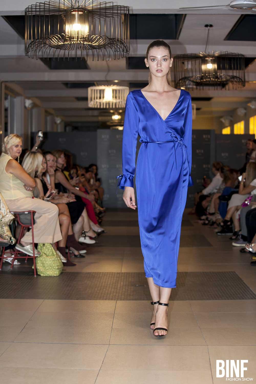Chiara Fornelli BINF fashion show settembre 2018