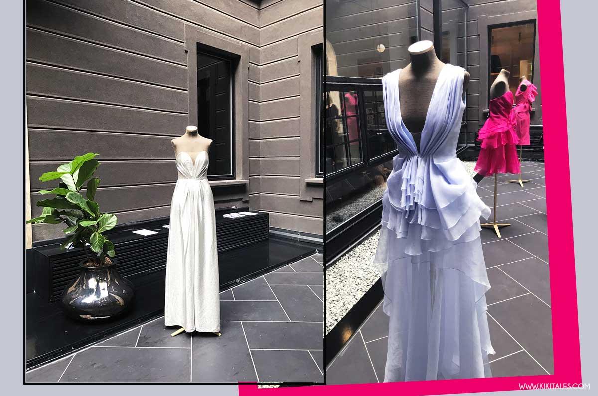 drappeggi e top strutturati Rhea Costa collezione primavera estate 2019 Milano Fashion Week